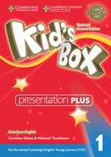 Kid's Box Level 1 Presentation Plus DVD-ROM American English