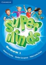 Super Minds Level 1 Wordcards (Pack of 81)