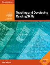 Teaching and Developing Reading Skills: Cambridge Handbooks for Language Teachers