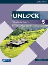 Unlock Combined Skills Level 5 Workbook
