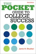 The Pocket Guide to College Success