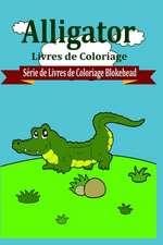Alligator Livres de Coloriage
