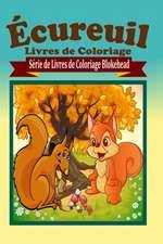 Ecureuil Livres de Coloriage
