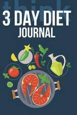 3 Day Diet Journal