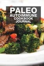 Paleo Autoimmune Cookbook Journal