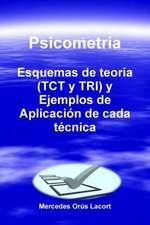 Psicometria - Esquemas de Teoria (Tct y Tri) y Ejemplos de Aplicacion de Cada Tecnica