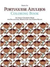 Portuguese Azulejos Coloring Book, Volume 2