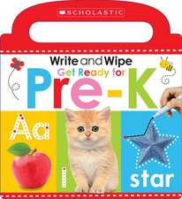 Write and Wipe Get Ready for Pre-K (Scholastic Early Learners)