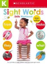Kindergarten Skills Workbook