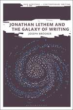 Jonathan Lethem and the Galaxy of Writing