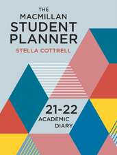 The Macmillan Student Planner 2021-22