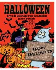 Halloween Livre de Coloriage Pour Les Adultes