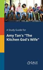 """A Study Guide for Amy Tan's """"The Kitchen God's Wife"""""""