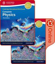 Cambridge International AS & A Level Complete Physics Enhanced Online & Print Student Book Pack