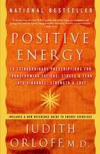 Positive Energy: 10 Extraordinary Prescriptions for Transforming Fatigue, Stress & Fear Into Vibrance, Strength & Love
