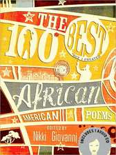 The 100 Best African American Poems [With CD (Audio)]:  A Modern Pride & Prejudice