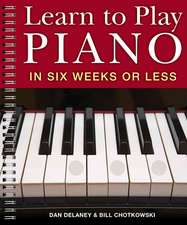 Learn to Play Piano in Six Weeks or Less:  60 Major League Puzzles