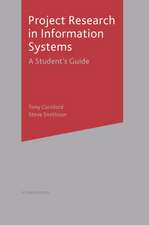 Project Research in Information Systems: A Student's Guide
