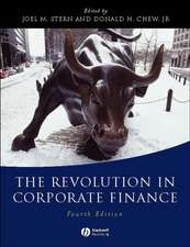 The Revolution in Corporate Finance