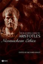 The Blackwell Guide to Aristotle′s Nicomachean Ethics