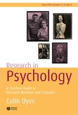 Research in Psychology: A Practical Guide to Methods and Statistics