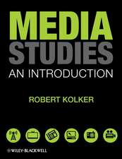 Media Studies: An Introduction