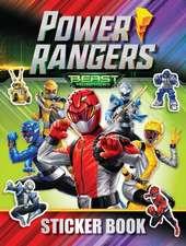 Power Rangers Beast Morphers Sticker Book