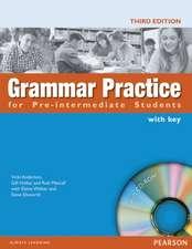 Grammar Practice. Pre-intermediate. Student's Book With Key