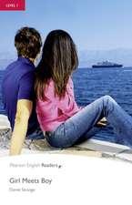 Girl Meets Boy, Level 1, Penguin Readers:  Dead Man's Chest, Level 3, Penguin Readers