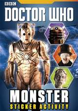 Doctor Who: Monster Sticker Activity Book