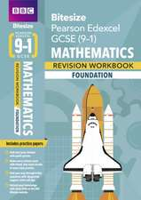 BBC Bitesize Edexcel GCSE (9-1) Maths Foundation Workbook