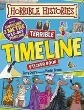 Terrible Timeline Sticker Activity Book