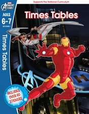 Avengers: Times Tables, Ages 6-7