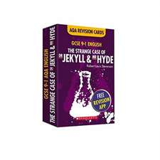 Strange Case of Dr Jekyll and Mr Hyde AQA English Literature