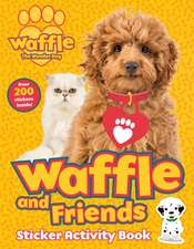 Waffle and Friends! Sticker Activity