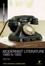 Modernist Literature, 1890-1950:  The Self-Renewing Song