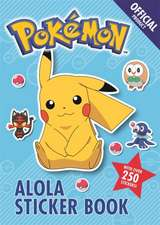 The Official Pokemon Alola Sticker Book