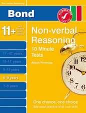 Bond 10 Minute Tests Non-Verbal Reasoning 8-9 yrs