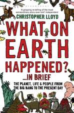 What on Earth Happened? ... In Brief: The Planet, Life and People from the Big Bang to the Present Day