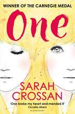 One: WINNER OF THE CILIP CARNEGIE MEDAL 2016