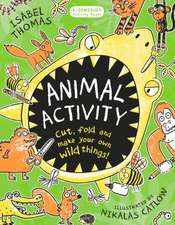 Animal Activity: Cut, fold and make your own wild things!