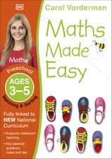 Maths Made Easy: Matching & Sorting, Ages 3-5 (Preschool): Supports the National Curriculum, Maths Exercise Book
