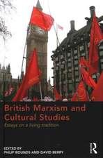 British Marxism and Cultural Studies