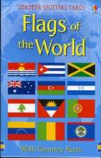 Flags of the World Usborne Spotter's Cards