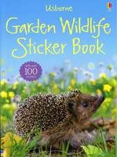Garden Wildlife Sticker Book