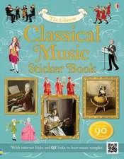 Classical Music Sticker Book