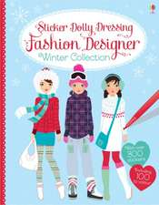 Sticker Dolly Dressing Fashion Designer: Winter Collection