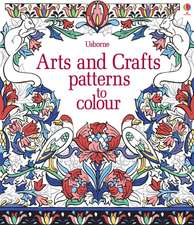 Arts & Crafts Patterns to Colour