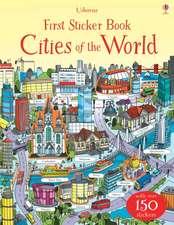 First Sticker Book: Cities