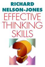 Effective Thinking Skills